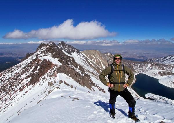 Climbing mexico mountaineers